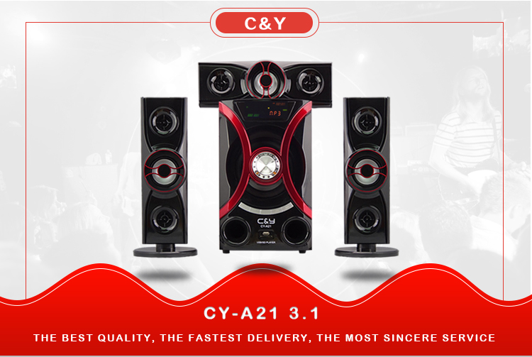 C&Y A21 3.1 Bluetooth multimedia subwoofer speaker
