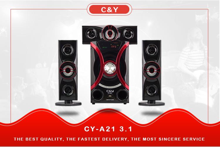C&Y A21 3.1 Bluetooth multimedia subwoofer speaker