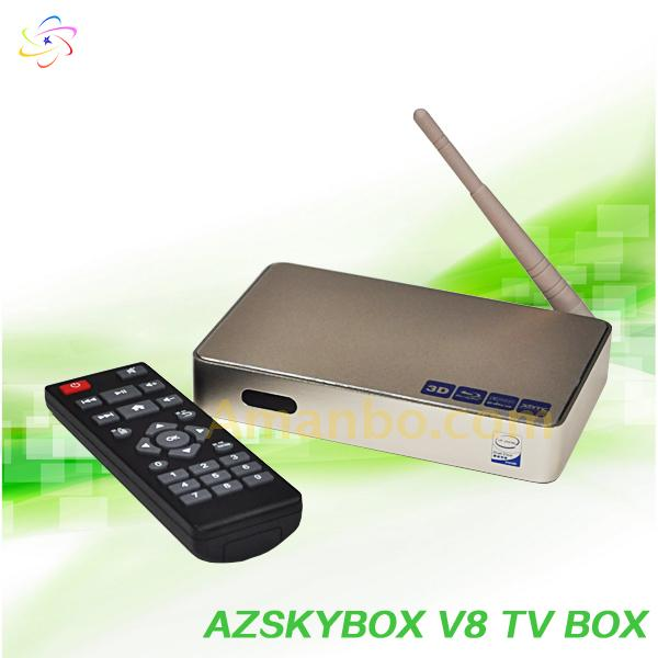Android Quad Core TV BOX with IPTV APK 90+ English Live Channel