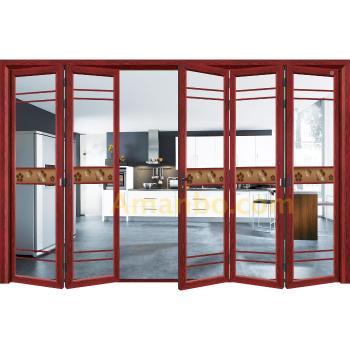 Guangzhou Factory Aluminium Windows and Doors Balcony Glass Folding ...