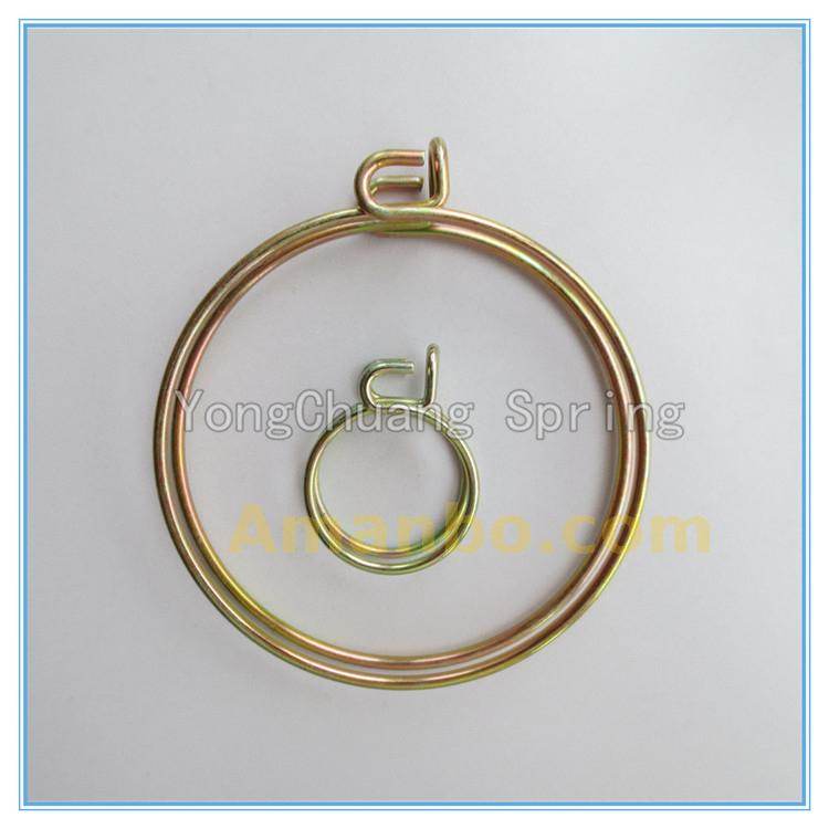 Double Wire Ear Hose Clamp Type Spring Load Clip,Tube Tension Spring ...