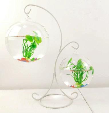 Glass Vase Home Decor Aquarium Suitable Fish Tank Glass Bottle
